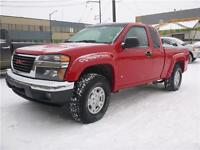 2007 GMC Canyon 4x4 WAS $10,995 NOW $9,995 or $108 Bi-Weekly!!!