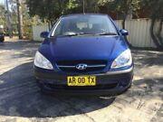 2007 Hyundai Getz TB MY06 Blue Automatic Hatchback Merrylands Parramatta Area Preview