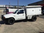 2002 Ford Courier PE GL White 5 Speed Manual Cab Chassis Underwood Logan Area Preview