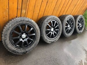 4 GoodYear All Season Tires with Rims for Sale
