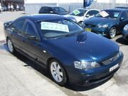 2005 Ford Falcon BA Mk II SR Blue 4 Speed Sports Automatic Sedan Broadmeadow Newcastle Area Preview