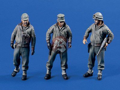 Verlinden 1/35 US Army G.I.s in WWII 3 Figures [Resin Model kit] 604