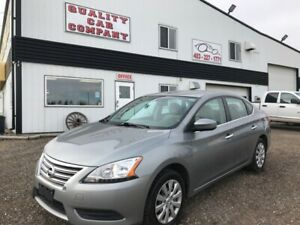 2013 Nissan Sentra 6 speed manual. WEEKEND SALE $4850!!