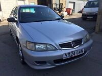 Honda Accord 2001, starts and drives well, MOT until 21st April, car located in Gravesend Kent, any