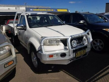 2011 Great Wall V200 K2 MY12 White 6 Speed Manual Cab Chassis Taminda Tamworth City Preview