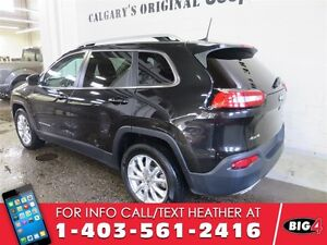 2016 Jeep Cherokee LIMITED, Leather, Panoramic Sunroof, V6