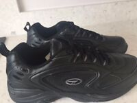 Black Hi Tec trainers size 11