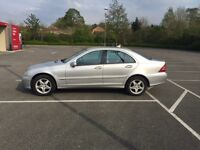 2001 Mercedes C180 AVANTGARDE **AUTOMATIC** Long MOT MAY2017 with No Advisory Full Serv History
