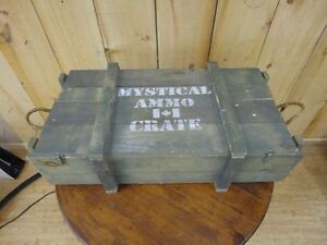 Army Ammo Crate Box
