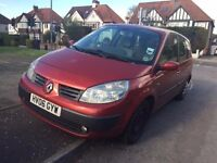 RENAULT GRAND SCENIC 1.6 PETROL 7 SEATER MOT UNTIL 17TH MARCH, 2017