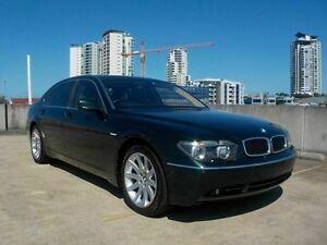 2003 BMW 745Li E66 Steptronic Green 6 Speed Sports Automatic Sedan Southport Gold Coast City Preview