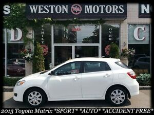 2013 Toyota Matrix *SPORT*AUTO*100% APPROVED-NO CREDIT CHECKS!