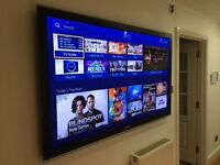 """65""""Samsung TV, Full HD 1080p, comes with Wall Mount"""