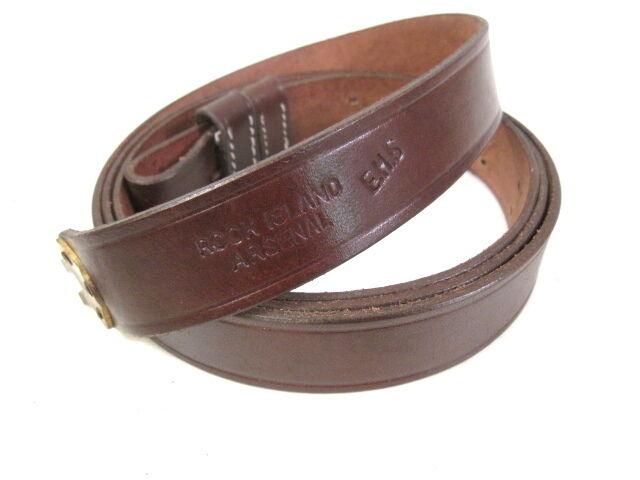 Indian War US Leather Sling 1873 Trapdoor & 1898 Krag-Jorgensen Rifle RIA Repro