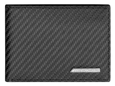 Genuine Mercedes-Benz - AMG Mini Wallet - Black Carbon Leather B66959996 *NEW*