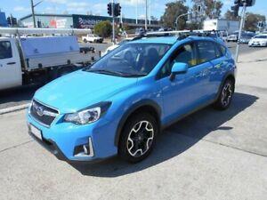 2016 Subaru XV G4X MY16 2.0i Lineartronic AWD Blue 6 Speed Wagon Fyshwick South Canberra Preview
