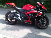 2006 Suzuki GSXR 600 Black and Red ! ! ! Summer Ready ! ! !