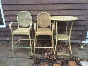 Pier One patio table and chairs