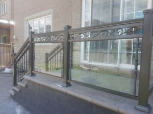 Aluminum Railings and Glass Railings