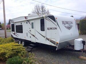 2012 Rubicon Toyhauler travel trailer