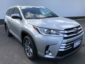 2018 Toyota Kluger GSU55R GXL AWD Silver 8 Speed Sports Automatic Wagon Oakleigh Monash Area Preview