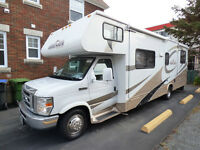 2009 FORD E450 FOREST RIVER FORESTER 2861 (23,000 KM, 31 PIEDS!)
