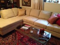 Gorgeous sectional, almost brand new, barely used!!