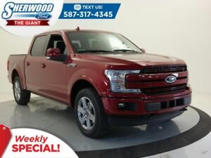 2018 Ford F-150 Lariat 4X4 - SYNC Connect, Leather, Moonroof