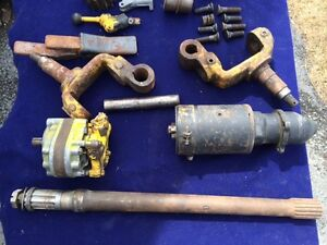 Parts for Huber Maintainer 600 Grader Ford motor