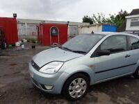 2003(53reg) Ford Fiesta 1.3 ,3 Door MOT'd 24/11/18 ,130,000 Miles £595