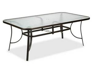 FREE - Outdoor Glass Table and Chairs Bicton Melville Area Preview