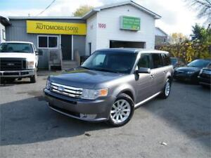 2009 FORD FLEX SEL AWD 4X4 . AUTOMATIQUE . 7 PASSAGERS