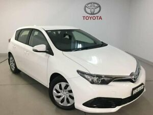 2018 Toyota Corolla ZRE182R Ascent S-CVT White 7 Speed Constant Variable Hatchback