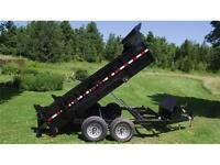 NEW 2015 Quality Steel 83 x 12  10k Dump Trailer 2015*