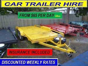 CAR 4X4 TRAILER HIRE BRISBANE RENTAL FROM $60 PER DAY 2t 17# Ipswich Ipswich City Preview