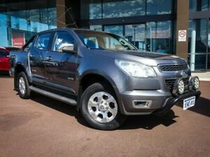 2014 Holden Colorado RG MY14 LTZ Crew Cab Grey 6 Speed Manual Utility Maddington Gosnells Area Preview