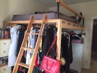 High Sleeper Bed/ Loft Bunk Bed Frame for Sale