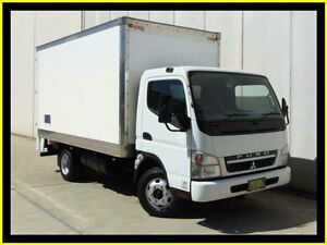 2010 Mitsubishi Fuso Canter FE MY08 FE84D 3.5 MWB White Cab Chassis 4.9l 4x2 Penrith Penrith Area Preview