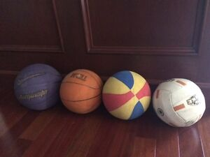 NIKE Basketballs, Plus 2 More, Plus Volleyball - ALL $15!