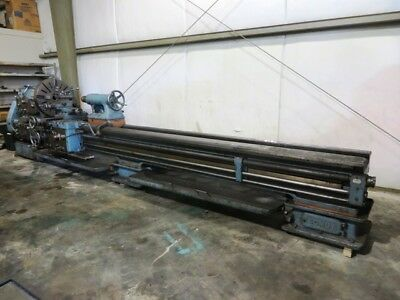 Somua Heavy Duty 36 X 170 Engine Lathe