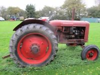 tractor nuffield diesel DM4 with v5c and 2 owners from new. on the button .delivery £1 a mile