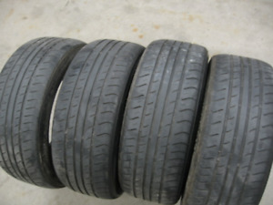 SET OF 225/50R17 ALL SEASON.$60 FOR ALL 4