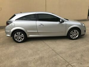 2007 Holden Astra AH CDX Coupe 2dr Auto 4sp 1.8i [MY07.5] Silver, Chrome Automatic Coupe