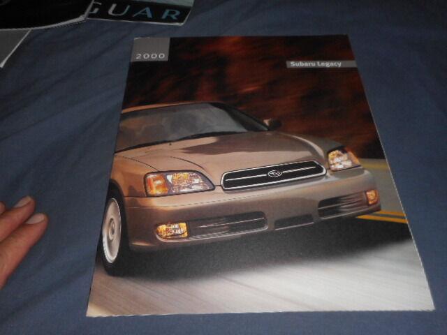 2000 Subaru Legacy Full Line USA Market Original Brochure Prospekt