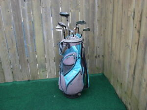 Ladies Right Hand Golf sets King cobra with ladies golf bag