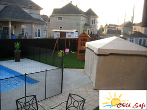 Pool Safety Fence : Child safe fence