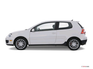 White 2009 Volkswagen GTI + Winter Tires, Automatic Transmission