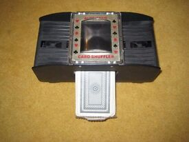 Good Quality Automatic Card Shuffler With Batteries And Pack Of Cards. OFFERS WELCOME