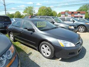DEAL! 2006 ACCORD WITH SUNROOF! LOW MILEAGE! NEW MVI !!!