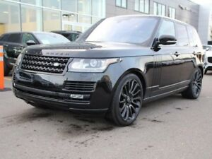 2016 Land Rover Range Rover 5.0L V8 Supercharged BLACK PACK - CP